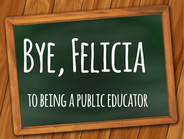 Bye felicia blog photo